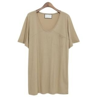 PEPER - V-Neck Short-Sleeve T-Shirt