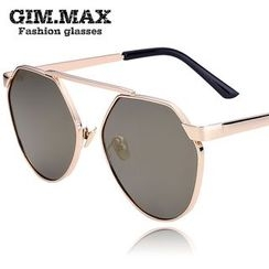 GIMMAX Glasses - Hexagon Mirrored Sunglasses