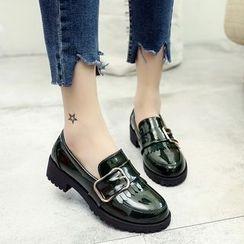 Wello - 粗跟樂福鞋