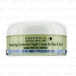 Eminence - Monoi Age Corrective Night Cream for Face and Neck (Normal to Dry Skin, Especially Mature)