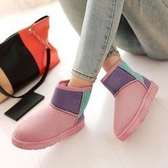 EMIL - Color Block Snow Boots