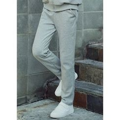 JOGUNSHOP - Drawstring-Waist Sweat Pants