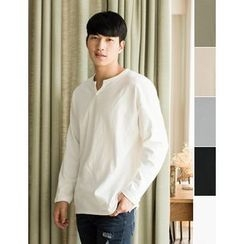 STYLEMAN - Colored Long-Sleeve T-Shirt