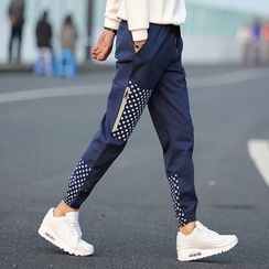 Bay Go Mall - Panel Harem Pants