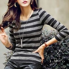 蘊熙 - 條紋針織衫