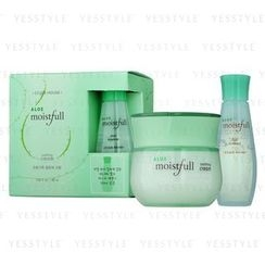 Etude House - Aloe Moistfull Soothing Cream Set (2 items): Cream 50ml + First Essence 20ml
