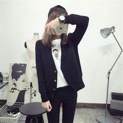 Qimi - V領開衫