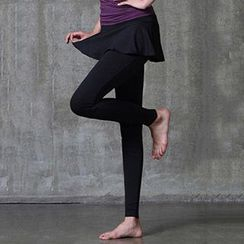 Lissom - Inset Skirt Yoga Pants