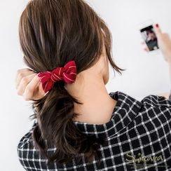 OrangeBear - Pinstriped Bowtie Hairpin