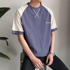 Soulcity - 插肩短袖T恤