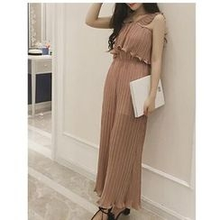 Octavia - Pleated Jumpsuit