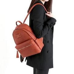 BABOSARANG - Faux-Leather Backpack Mini