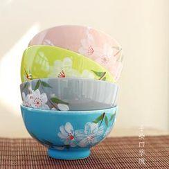 三木青禾 - 碎花陶瓷碗
