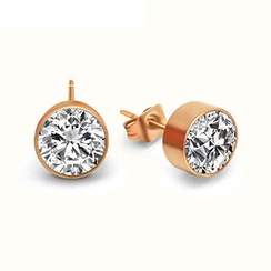 Andante - Rhinestone Single Stud Earring