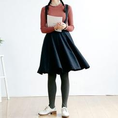 Forest Girl - Suspender A-Line Skirt