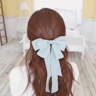 soo n soo - Chiffon Bow Hair Clip