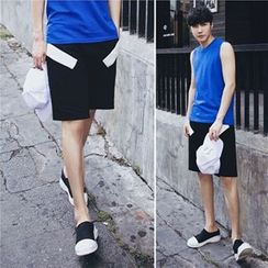 MRCYC - Contrast-Trim Shorts