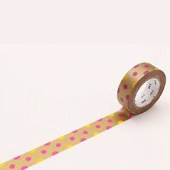 mt - mt Masking Tape : mt 8P Kira Kira Gold (8 Pieces)