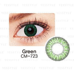 GEO - Magic Color Lens CM-723 (2tone Green) [P-0.00 ONLY]