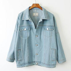 ninna nanna - Oversized Denim Jacket