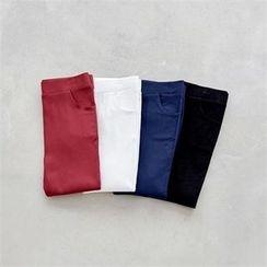 PEPER - Band-Waist Skinny Pants