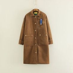 Mushi - Embroidered Coat