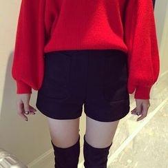 Shine On Me - Pocket Knit Shorts