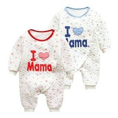 MOM Kiss - Baby Letter One-piece