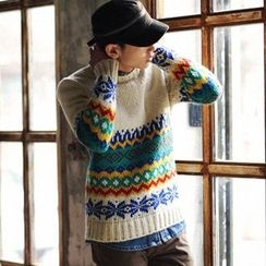 Simsam - Patterned Sweater