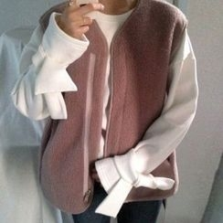 Dute - Tie-Cuff Pullover