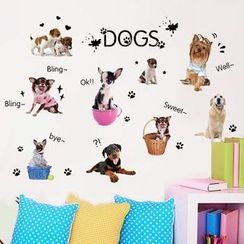 Citadin - Dog Wall Sticker
