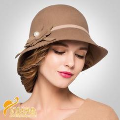 BADA - Faux Pearl Felt Hat