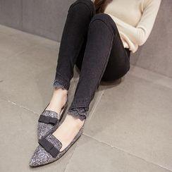 Soswift - Maternity Lace Hem Jeans