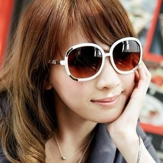 SELINA - Metal-Panel Sunglasses