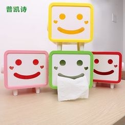 Plukish - Smiley Face Tissue Box