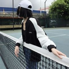 OCTALE - Embroidered Lightweight Zip-Up Jacket