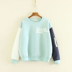 Mushi - Color Block Sweatshirt