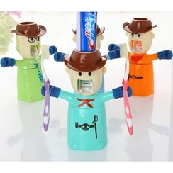 itoyoko - Toothpaste Dispenser with Tumbler