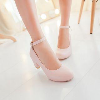 Shoes Galore - Ankle Strap Pumps