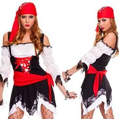 Cosgirl - 海盗角色扮演服套装