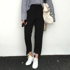 MATO - Asymmetric Cropped Pants