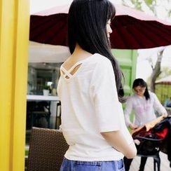 Polaris - Cross Strap Short-Sleeve T-shirt