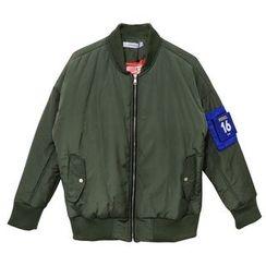 蔡先生 - 夾棉拉鏈夾克