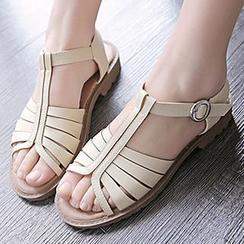Gizmal Boots - T字带凉鞋