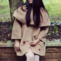 LONNY - 针织披肩大衣