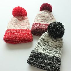 EVEN - Melange Bobble Beanie