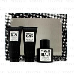 Kenneth Cole - Vintage Black Coffret: Eau De Toilette Spray 100ml/3.4oz + Hair and Body Wash 100ml/3.4oz + After Shave Balm 100ml/3.4oz