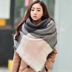 Amandier - Color Block Scarf