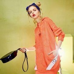 ELF SACK - Long-Sleeve Hooded Dress