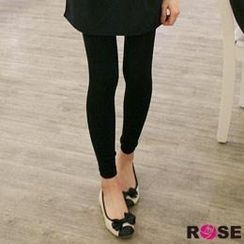 ROSE - Brushed-Fleece Leggings